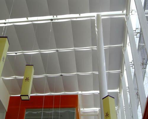 电动阳光房遮阳帘