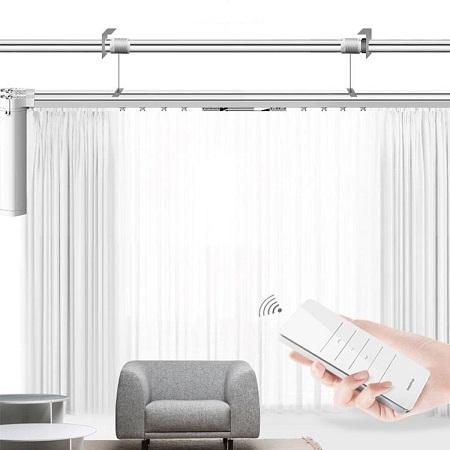 自动遥控窗帘